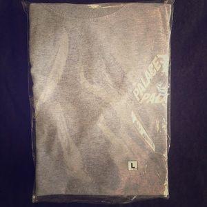 Palace P3 Gray Triferg t shirt